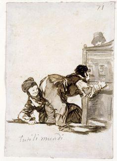 "Francisco Goya "" Tuti li mundi """