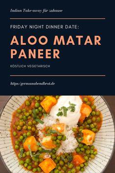 Friday Night Dinner Date: Aloo Matar Paneer Garam Masala, Weeknight Meals, Easy Meals, Nachos Supreme, Friday Night Dinners, Night Food, Date Dinner, Spinach Recipes, Curry
