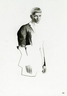 Richard Kilroy Fashion Illustrations
