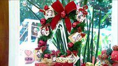 Aprenda a fazer uma linda guirlanda para sua decoração natalina - notícias em O programa - Mais Você