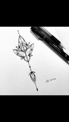 Drawing dessin mandala
