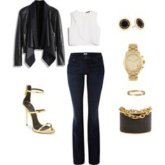 """I'm into Gold.. Again.."" by sheilac-and-co on Polyvore"