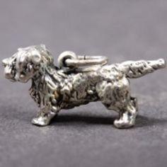 Glen of Imaal Terrier silver PENDANT