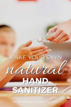 The ingredients in the average hand sanitizer are highly toxic, not only to germs, but to you. Here's why you want to ditch the store-bought stuff and use this DIY natural hand sanitizer recipe instead. Herbal Remedies, Health Remedies, Home Remedies, Natural Remedies, Alternative Health, Alternative Medicine, Natural Medicine, Herbal Medicine, Natural Hand Sanitizer