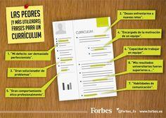 Les pitjors (i més utilitzades frases per a un currículum) #cv #currículum