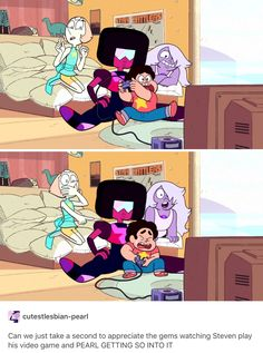 THIS SCENE WAS SO PURE AND PERFECT, Steven Universe
