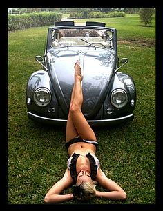 VW Bug PinUp ..have the car but can I have HER body PLEASE!