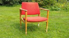 Meblowy Lifting: Renowacja fotela z lat 60. Cz.1 Renowacja konstruk...