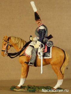 Trooper, Ducht Carabiniers, 1815 Del Prado: Cavalry of the Napoleonic Wars