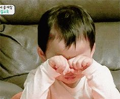 The perfect Bored Crying Cute Animated GIF for your conversation. Discover and Share the best GIFs on Tenor. Cute Asian Babies, Korean Babies, Cute Babies, Crying Gif, Crying Face, Gif Baby, Triplet Babies, Superman Kids, Song Triplets