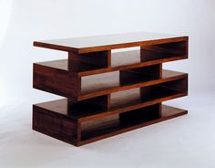 Cabinet for periodicals, 1923, by Walter Gropius, a founder of the Bauhous School in 1919. The everyday objects, furniture, even buildings, needed to follow the less is more philosophy, due to the need of producing functionality above all, that would follow the modern ideas of looking at art and technology.
