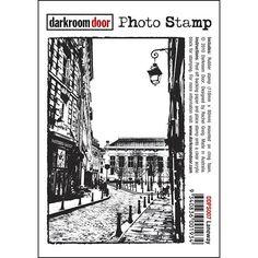 Darkroom Door Photo Stamp - Laneway