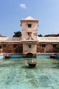 Water Palace, sultan's palace, Yogyakarta, Indonesia.