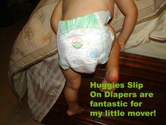 We LOVE the Huggies Slip On Diapers and a $25 Target Gift Card! #HuggiesSlipOn #pmedia