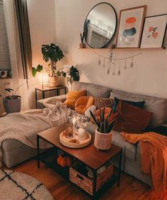 Boho Living Room, Cozy Living Rooms, Apartment Living, Living Room Decor, Bedroom Decor, My New Room, House Rooms, Cozy House, Room Inspiration