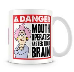 Aunty Acid Danger Mug from Charlie Bit Me. Buy Aunty Acid Danger Mug Online now for £10.00 : CharlieBitMe.co.uk