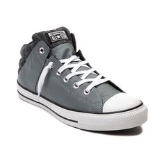 promo code 1dc61 52024 Shop for Converse Chuck Taylor Axel Mid Sneaker, Gray Black, at Journeys  Shoes.