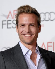 Gabriel Macht - love him as Harvey Spector.  Suits is my favorite show.  Can't wait until January when it returns.