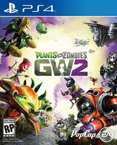 Plants Vs Zombies Garden Warfare 2 Game Cover