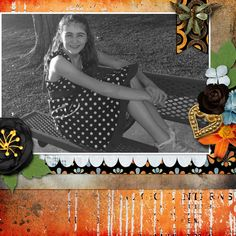 A picture of my daughter.  Kit used: Color Me Autumn by Booland Designs available at http://www.gottapixel.net/store/manufacturers.php?manufacturerid=232