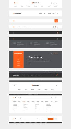 Prototyping is an essential part in creating your website, but it hides many important details and nuances that can easily burn lots of your time and energy. Basement Ecommerce is a perfectly crafted wireframe kit with 90+ components in 10 categories used to build awesome online store from scratch.