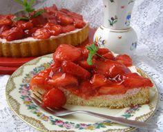 W Mojej Kuchni Lubię.. : przepyszny i prosty deserowy przysmak z truskawkam...