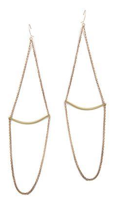 Simple, but beautiful - Serefina Vintage Finding Earrings