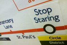 Prosign - cool stuff we've done and seen — Someone has made fake London Underground signs, and whoever did it is a ruddy genius.