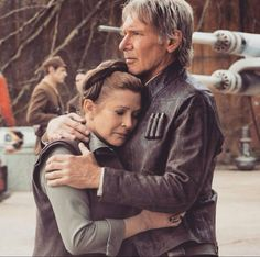 Star Wars VII - The Force Awakens / Leia and Han