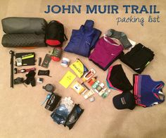 Planning a long-distance backpacking trip? Start with this complete John Muir Trail gear list that includes every single item I took on my 3-week hike.