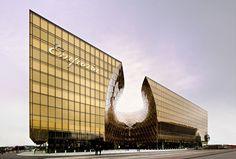 Dosis Arquitectura: Impresionante construccion en Suecia por Wingårdhs.