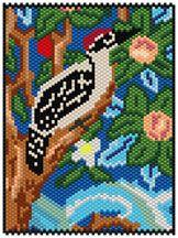The Woodpecker (detail) Pattern