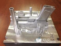 Worlds-2nd-3D-Printed-Metal-Gun1- Inconel 625 superalloy