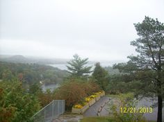 Lake of Bays as seen from Lions Lookout in Huntsville Bays, The Province, Lions, Ontario, Country Roads, Canada, Autumn, River, World