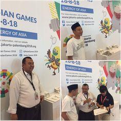 UPPLI di stand PRJ Asian Games