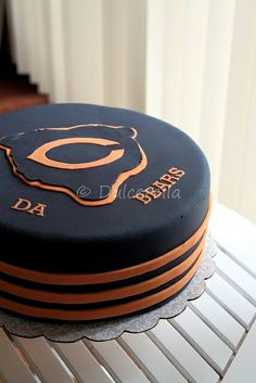 Chicago Bears Cake | Flickr - Photo Sharing!