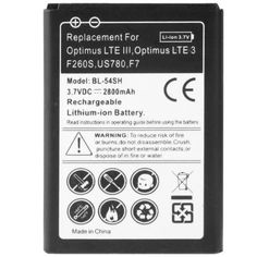 2800mAh+Business+Replacement+Battery+for+LG+Optimus+LTE+III