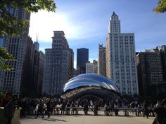 The Bean in Chicago's Millennium Park. Photo by Jessica Lipowski