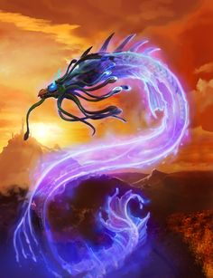Card Name: Mana Wyrm Artist: Blizzard Entertaonment