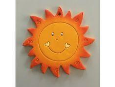 El sol de cerámica de decoración de las paredes Usmev