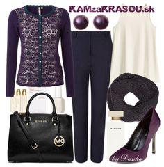 Pre milovníčky fialovej farby - KAMzaKRASOU.sk #oldfashion #purple #black #fashion