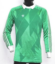 6603ca8bc82 Adidas Jersey Goalkeeper Originals Vintage Rare Made West Germany, Size  d5/6 | eBay