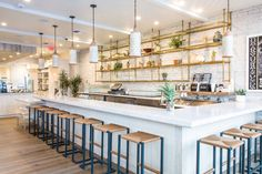 Macramé Revisted: Cafe Gratitude in Downtown LA