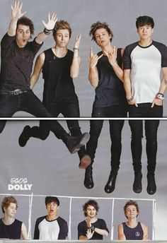5 Seconds of Summer in Dolly Magazine