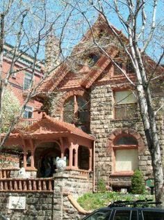 Molly Brown House...This fancy antique-filled Victorian house was the home of Molly Brown, a famous survivor of the Titanic.