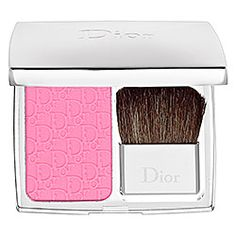 Its like silk to the touch and the color is amazing<3 #Dior - Rosy Glow Healthy Glow Awakening Blush  #sephora