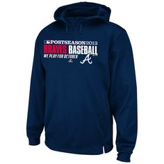 Atlanta Braves 2013 Authentic Collection Team Favorite Playoff Hood - MLB.com Shop