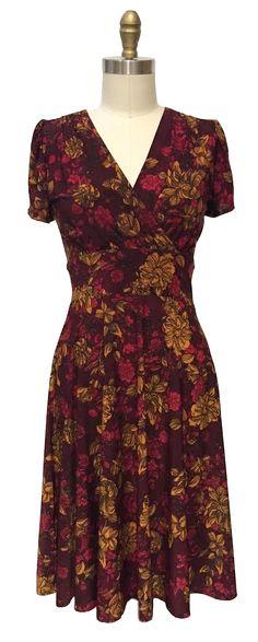 The Karina Dresses Megan dress in Autumn Garden