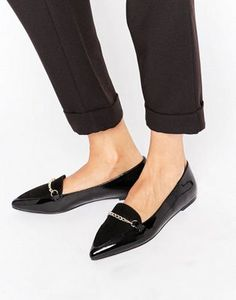 ASOS LIVIA Pointed Loafers These are soo me!!!