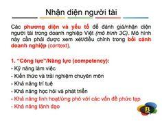 Cách nhận diện người tài trong quản lý nhân sự  http://eduviet.vn/index.php/TQ-MT-Cong-viec/khai-niem-y-nghia-vai-tro-cua-phan-tich-cong-viec.html